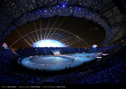 Doha Asian Games, opening ceremony