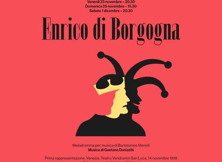 SILVIA PAOLI | Enrico di Borgogna