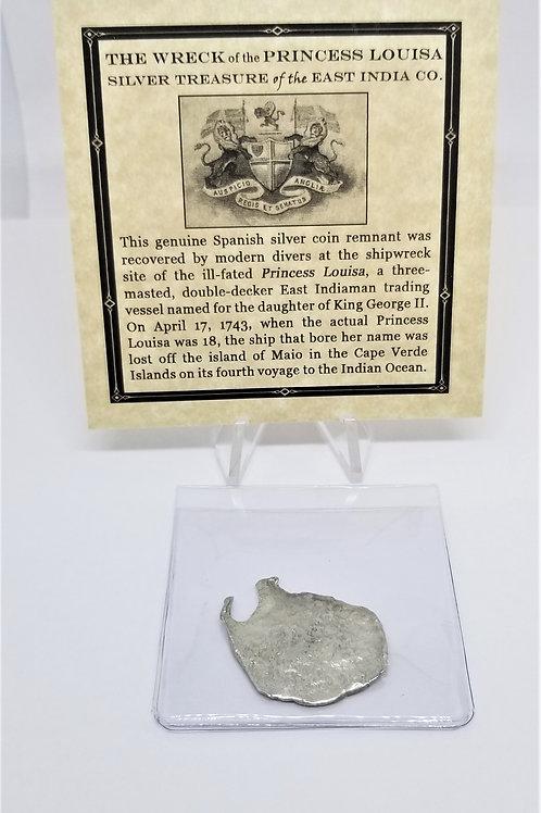 Shipwreck Coins Princess Louisa Shipwreck 2 - 4 Reales   # 12