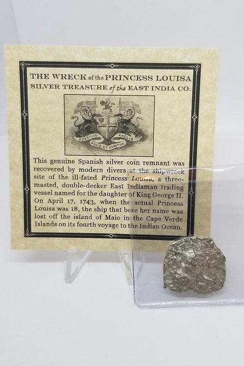 Shipwreck Coins Princess Louisa Shipwreck 2 - 4 Reales   # 14
