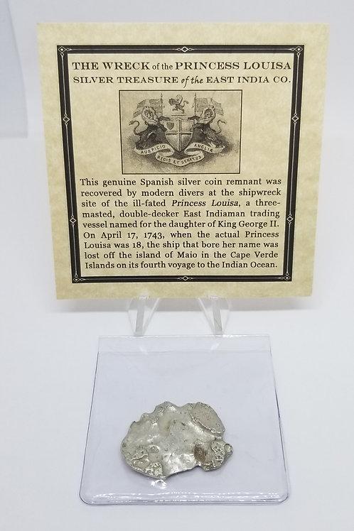 Shipwreck Coins Princess Louisa Shipwreck 2 - 4 Reales   # 11