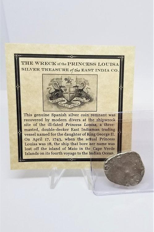 Shipwreck Coins Princess Louisa Shipwreck 2 - 4 Reales   # 9