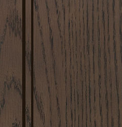 Cabinets: Silas with Van Dyke Glaze on Red Oak