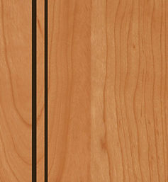 Cabinets: Natural with Mocha Glaze on Cherry