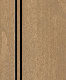 Cabinets: Dusty Road with Black Glaze on Alder (Clear)