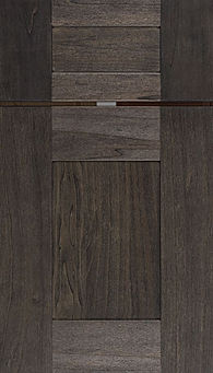 Cabinets: Carbon on Select Poplar Hartford Door Flat Panel Door