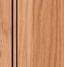 Cabinets: Natural with Black Glaze on Red Oak