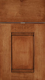 Cabinets: Acorn with Mocha Glaze on Maple Bristol Door Flat Panel Door