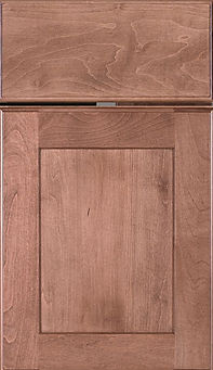 Cabinets: Cashmere on Maple Hanover Door Flat Panel Door