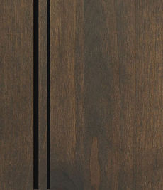 Cabinets: Caviar with Black Glaze on Alder (Clear)