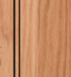 Cabinets: Natural with Van Dyke Glaze on Red Oak