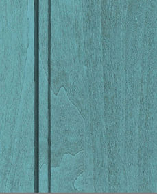 Cabinets: Aqua with Graphite Highlight on Alder (Clear)