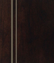 Cabinets: Espresso with Nickel Glaze on Alder (Clear)