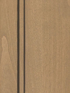 Cabinets: Dusty Road with Graphite Highlight on Alder (Clear)