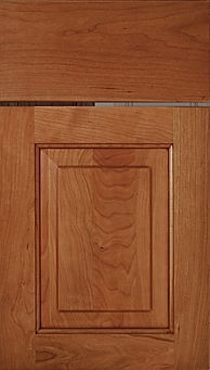 Cabinets: Medium with Mocha Glaze on Cherry Richmond Door Raised Panel Door
