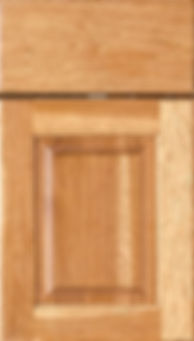 Cabinets: Medium on Hickory Square Raised Panel Door Raised Panel Door