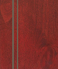 Cabinets: Red Barn with Nickel Glaze on Alder (Clear)