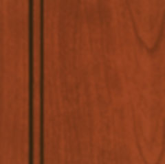 Cabinets: Red with Mocha Glaze on Cherry