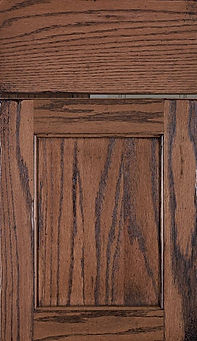Cabinets: Wiley - Weathered on Red Oak Square Flat Panel Door Flat Panel Door
