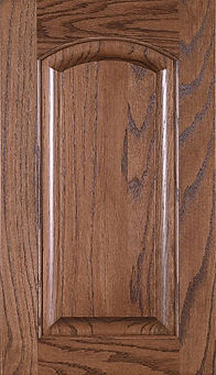 Cabinets: Autumn on Red Oak Crown Raised Panel Door Raised Panel Door