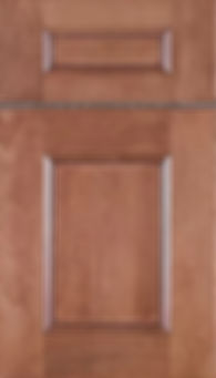 Cabinets: Cashmere with Mocha Glaze on Maple Aspen Door Flat Panel Door