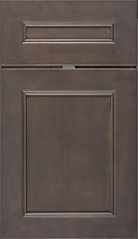 Cabinets: Silas with Graphite Highlight on Maple Landes Door Flat Panel Door