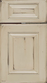 Cabinets: Beige - Olde World on Maple Oxford Raised Panel Door Raised Panel Door