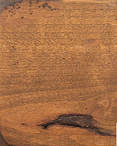 Cabinets: Barnwood - Weathered on Rustic Alder (Knotty) weathered