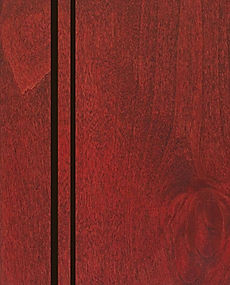 Cabinets: Red Barn with Van Dyke Glaze on Alder (Clear)
