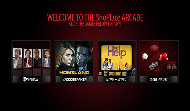 Showtime's ShoPlace Arcade