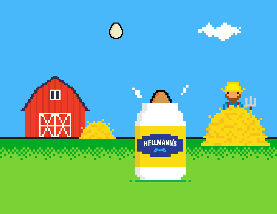Hellmann's Egg Drop