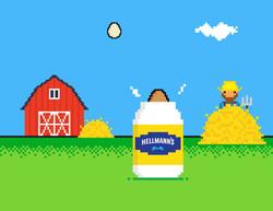 Hellmann's Egg Drop