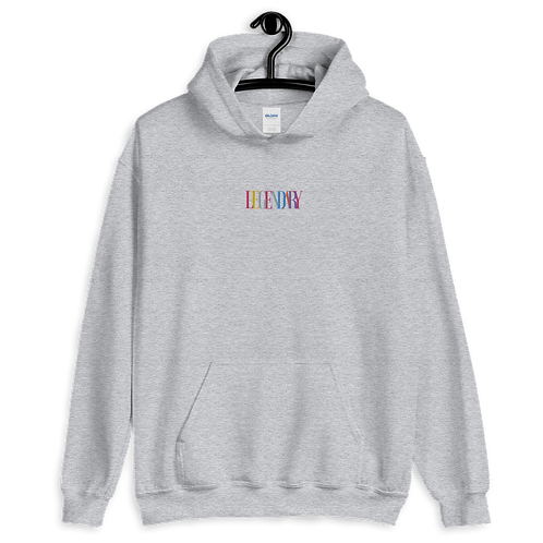 Embroidered #Colors Hoodie