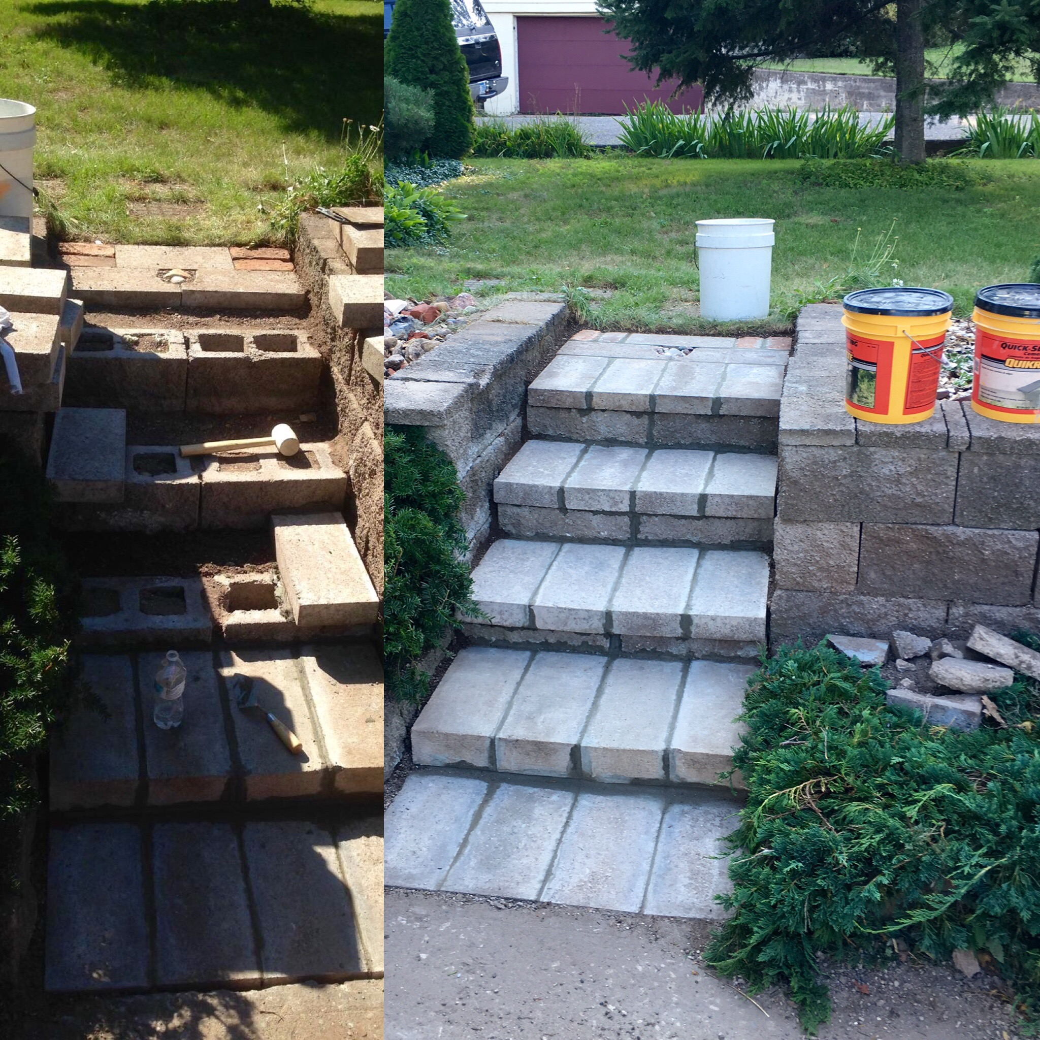 Busy Boys Steps and Retaining Walls