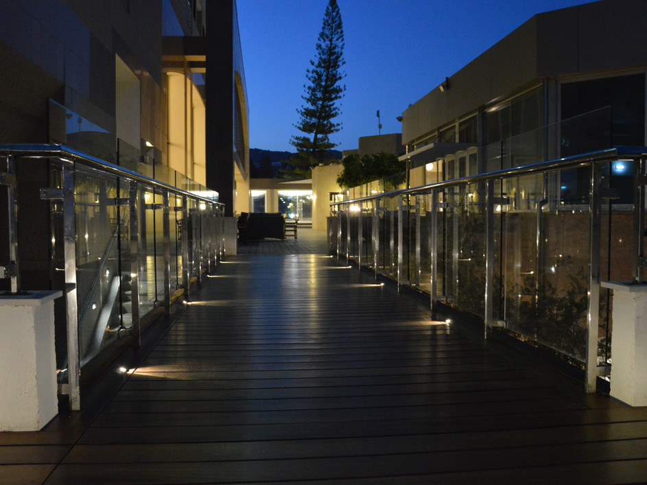 Captain's Bar Terrace at St. Raphael Resort