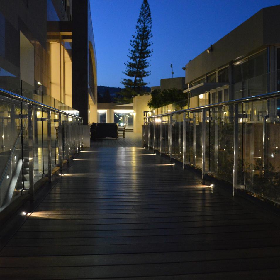 Captain's Bar Terrace στο Ξενοδοχείο Saint Raphael