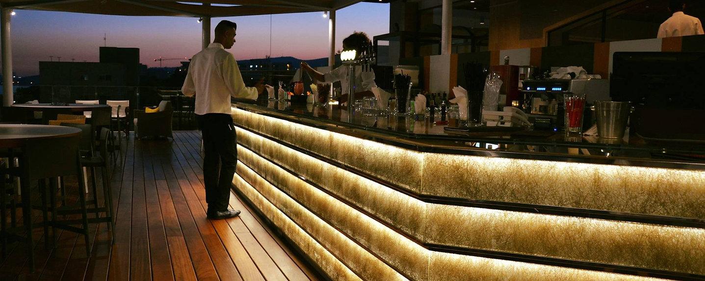 Saint Raphael Limassol Bar Lights