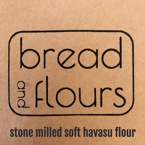 Bread and Flours - 2lbs Stone Milled Soft Havasu Flour