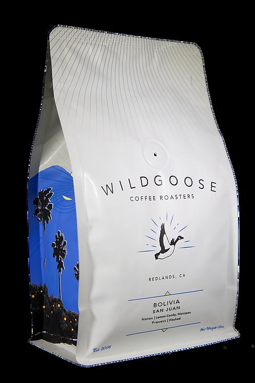 Wild Goose Coffee Roasters - Bolivia San Juan FTO