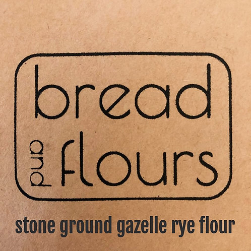 Bread and Flours - 2lbs Stone Milled Gazelle Rye
