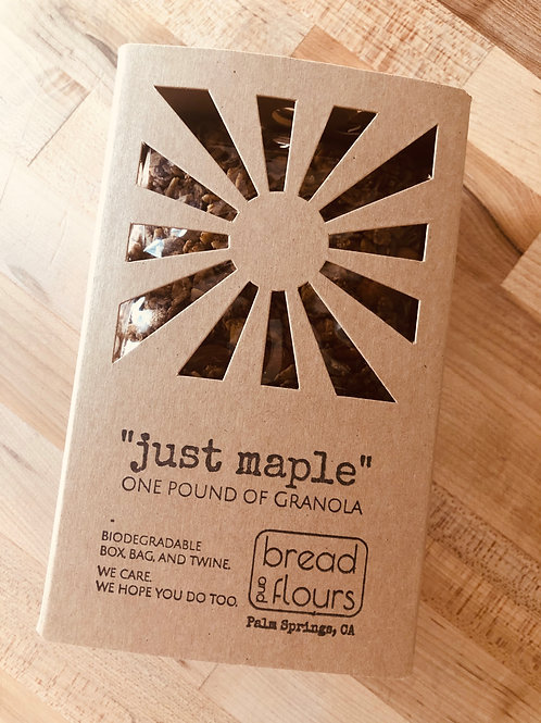 "Bread and Flours - ""Just Maple"" Granola"