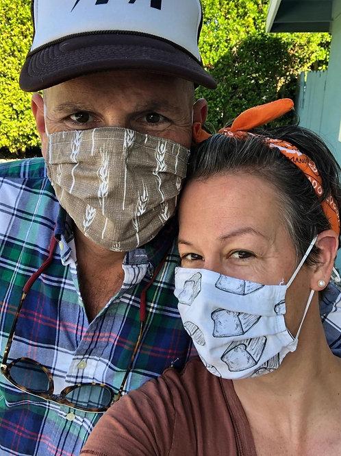 Cotton Masks - Handmade by Eunice