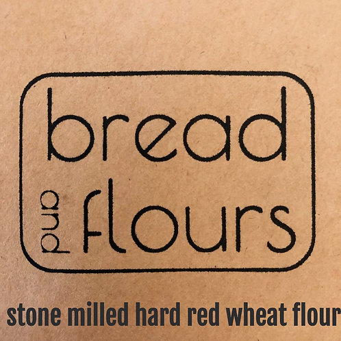 Bread and Flours - 2lbs Stone Milled Hard Red Wheat Flour