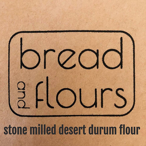 Bread and Flours - 2lbs Stone Milled Desert Durum Flour