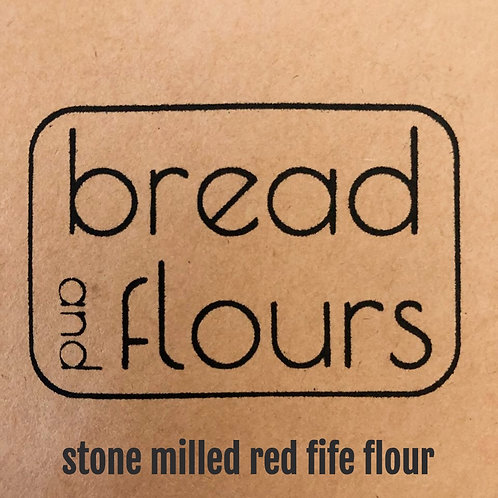 Bread and Flours - 2lbs Stone Milled Red Fife Flour