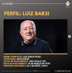 Perfil do Investidor: Luiz Barsi