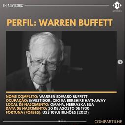 Perfil do Investidor: Warren Buffett