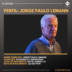 Perfil do Empreendedor: Jorge Paulo Lemann