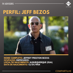 Perfil do Empreendedor: Jeff Bezos