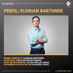 Perfil do Investidor: Florian Bartunek
